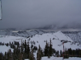 Alta - The Christmas storm rolling in