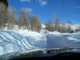 Sundance - The drive out - the trickiest part of the day