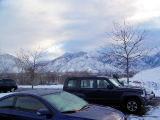 Sakt Lake - No view from my room but the view from the car park wasn't too bad