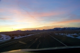 Nevada - Last light over the desert