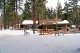 Tahoe XC - Lodge at the trailhead