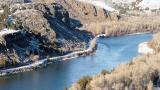 Snake River above Idaho Falls