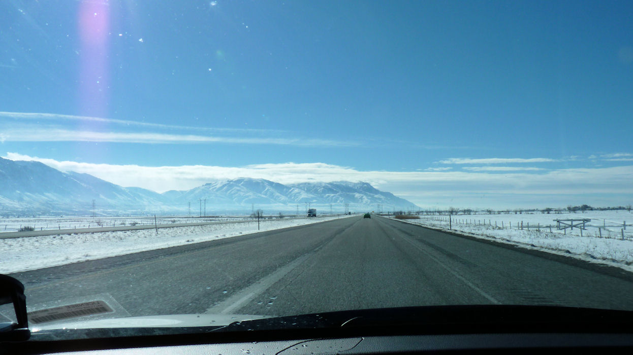 Approaching the Northern Wasatch